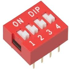 Dipswitch 4 polig