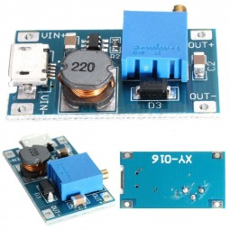 Step up converter 2a micro usb 0