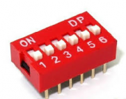 Dipswitch 6 polig